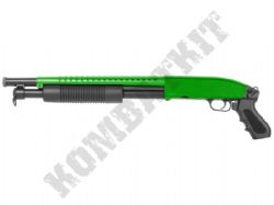 M58B BB Gun M500 Short Replica Pump Action Spring Airsoft Shotgun 2 Tone Colours